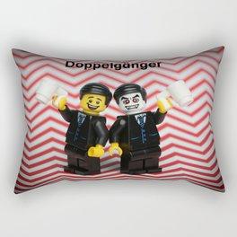Damn fine Doppelgängers! Rectangular Pillow