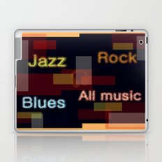 ALL MUSIC Laptop & iPad Skin