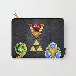 The Timeless Legend of Zelda Inspired Spiritual Stones Carry-All Pouch
