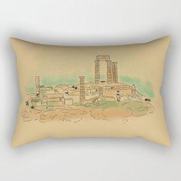 Archegesion of Delos  Rectangular Pillow