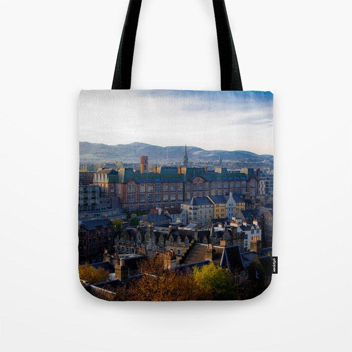 Edinburgh Sunrise Tote Bag