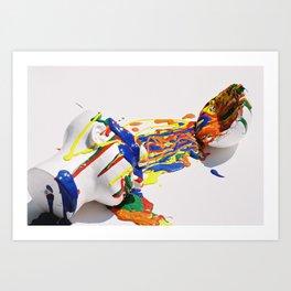 Mindful Explosion Art Print