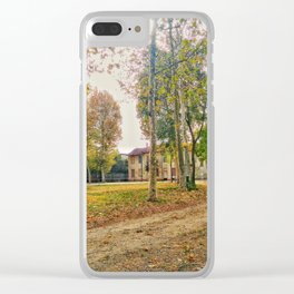 Road to nature Clear iPhone Case