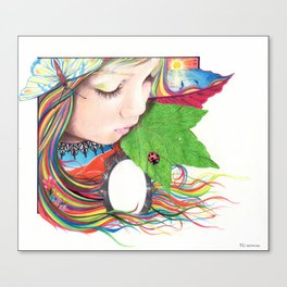 If Mother Earth Was a Child... Canvas Print