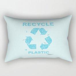 Recycle Plastic Rectangular Pillow