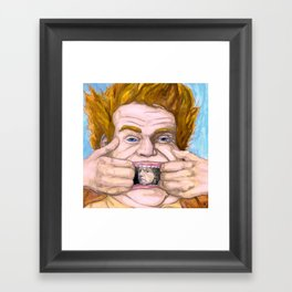 """Holy Schnikes!"" by Cap Blackard Framed Art Print"