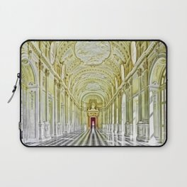 Gallery of Diana, Royal Palace of Venaria Reale, Turin Italy Portrait Painting by Jeanpaul Ferro Laptop Sleeve