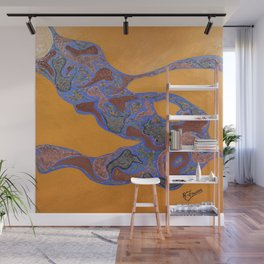 Puzzle Flow Wall Mural