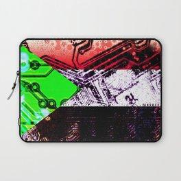 sudan circuit board (flag)  Laptop Sleeve