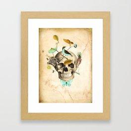 Returned to the earth Framed Art Print