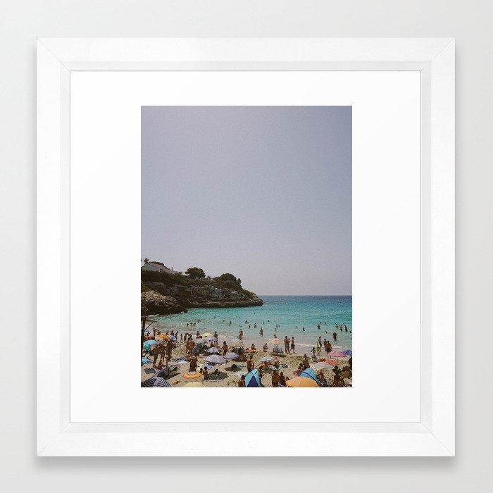 Mallorcan Holiday Framed Art Print