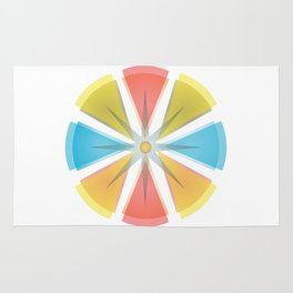 The colors circle Rug