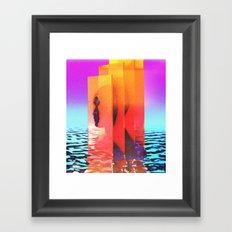 Random thoughts Framed Art Print