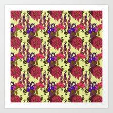 Jamaican Botanicals - Plum Art Print