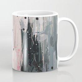 Soft Pink Abstract Coffee Mug