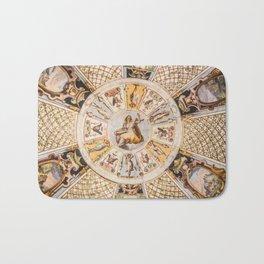 classic style art Bath Mat