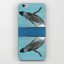 A WHALE OF A TIME iPhone Skin