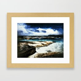 Western Australian Coast line Framed Art Print