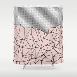 Ab Lines 45 Dogwood Shower Curtain