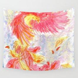 Firey Phoenix Wall Tapestry