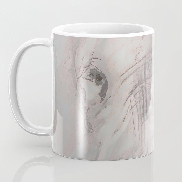 Foraging Elephant Coffee Mug