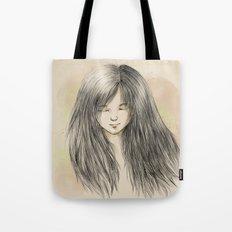 hair dreams Tote Bag
