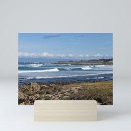 Pebble Beach Landscape Mini Art Print
