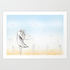 Scaredcrow Art Print