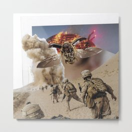 Swarm Metal Print