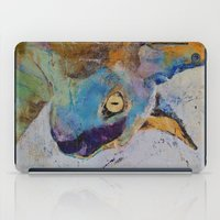 sphynx iPad Cases featuring Sphynx Cat by Michael Creese