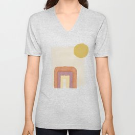 Portal In The Sun Unisex V-Neck