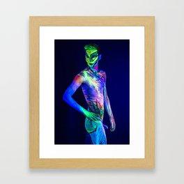 Thunderstruck Framed Art Print