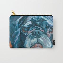 Sir Duke the Pug Portrait Carry-All Pouch