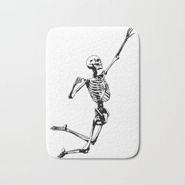 Jumping Skeleton Bath Mat