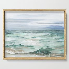Oceanscape of Anna Maria Island Florida. Serving Tray