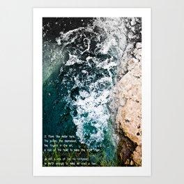 -His Sullen Art Print