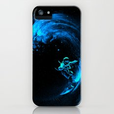 Space Surfing Slim Case iPhone (5, 5s)