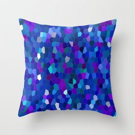 Geometrically mosaically speaking... Throw Pillow