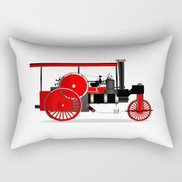 Vintage Steam Roller Rectangular Pillow
