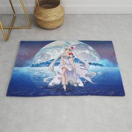 Sailor Moon Crystal Princess Serenity SILVER HAIR Rug