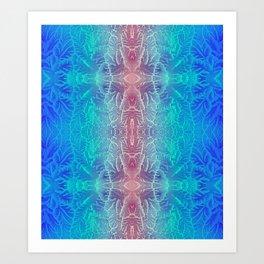 lithography Art Print