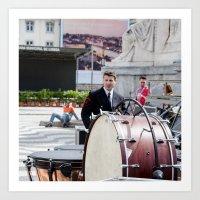 drums Art Prints featuring DRUMS by Sébastien BOUVIER