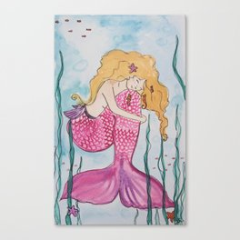 Mermaid Avalon  Canvas Print