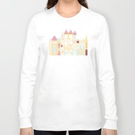 Happy Castle - Pink Variation Long Sleeve T-shirt