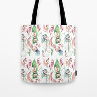 Pixie Pattern Tote Bag