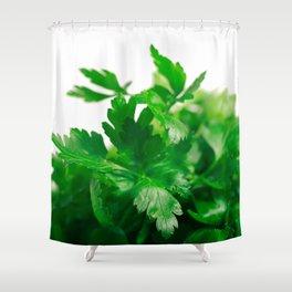 Parsley Shower Curtain