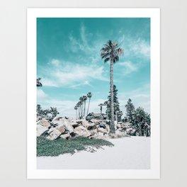 Beach Day on Coronado Island, San Diego, California Art Print
