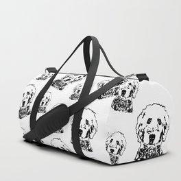 Goldendoodle Dog Duffle Bag