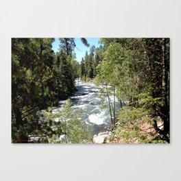 Camping, Hiking, and Kayaking on Vallecito Creek Canvas Print