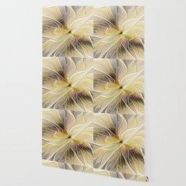 Floral Beauty, Abstract Fractal Art Flower Wallpaper